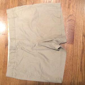J Crew Chino Shorts Size 12